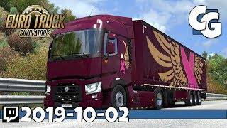 Gambar cover Real Men Drive Pink - Pink Ribbon Charity Event - #PinkMyTruck - ETS2 - VOD - 2019-10-02