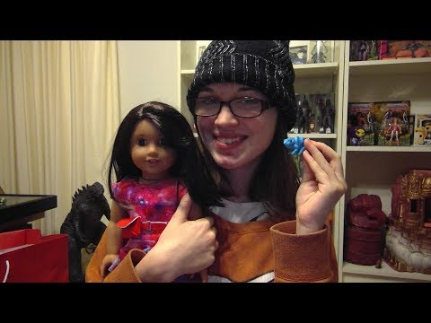 I GOT LUCIANA!! GIRL OF THE YEAR 2018 AMERICAN GIRL DOLL!