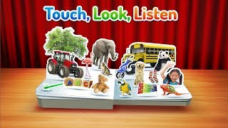 Touch, Look, Listen Series available on Google Play, the App Store and Amazon