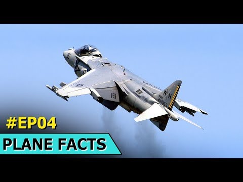Harrier Jump Jet   Facts About The Harrier Jump Jet   The Plane Facts   Episode 4