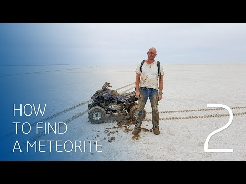 The race to find a recently fallen 4.5 billion year-old meteorite