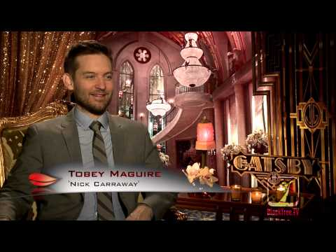 Tobey Maguire Interview for The Great Gatsby