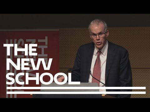 Bill McKibben On The Fate Of The Earth | The New School