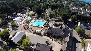 Camping Le Manoir de Ker An Poul**** - Sarzeau Golfe du Morbihan (Vidéo drone)