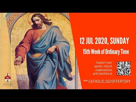 Catholic Sunday Mass Today Live Online - Sunday, 15th Week of Ordinary Time 2020 - Livestream