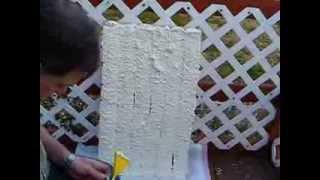 Poor Mans Spray Foam DIY insulation Polyureathane Foam Nozzle