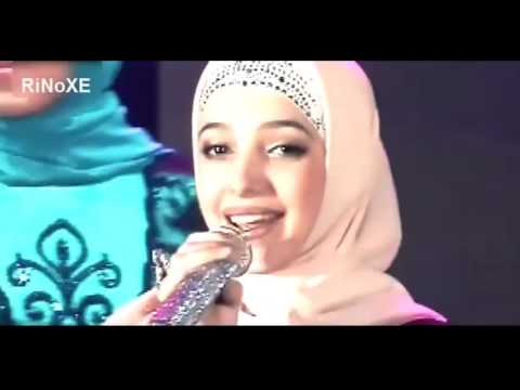 Remaja Putri Chechnya – menyanyikan Band dalam bahasa Arab