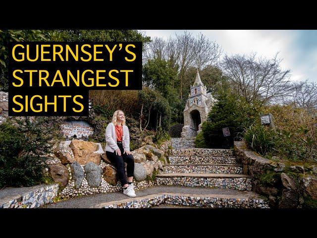 Top 6 WEIRDEST SIGHTS in Guernsey | We had NEVER HEARD of No.5!!