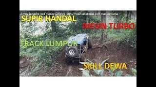 Video Jimny jangkrik  4x4  mesin turbo vs jimny mesin abal abal | off road extreme download MP3, 3GP, MP4, WEBM, AVI, FLV September 2018