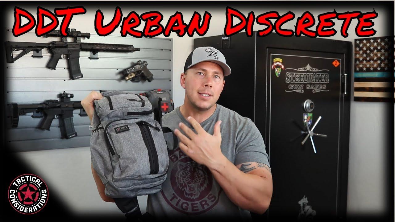 DDT Discrete Traveler Sling Bag Ultimate Gray!