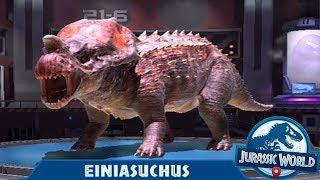 Jurassic World Alive Android Gameplay EINIASUCHUS Level 10