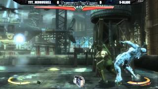 TTT: Injustice Tournament #1 - Injustice - TTT_Neorussell vs S-Blade