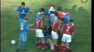 Смотреть видео Ротор 1-1 Спартак (Москва). Чемпионат России-1995 онлайн
