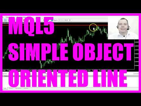 Mql5 Tutorial Simple Object Oriented Line Ea Youtube