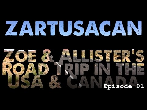 ZARTUSACAN 1 | A Ten Week Motorcycle Road Trip in the USA and Canada