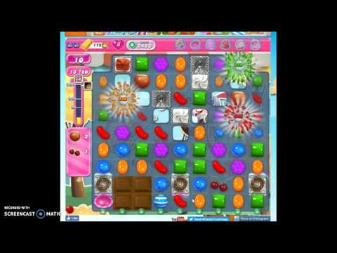 Candy Crush Level 2423 help w/audio tips, hints, tricks