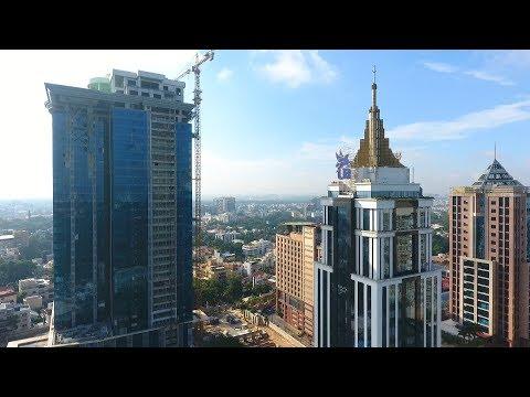 Bengaluru Aerial View (Drone View) (Bangalore)