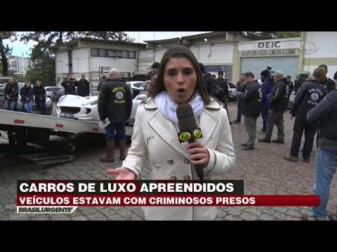 Carros de luxo são apreendidos no Rio Grande do Sul