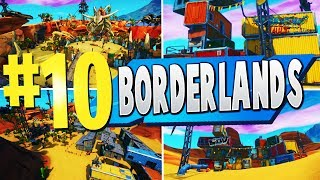 TOP 10 BEST BORDERLANDS Cartes créatives à Fortnite (fr) Fortnite Pandora Code cartographique (Textures Borderlands)