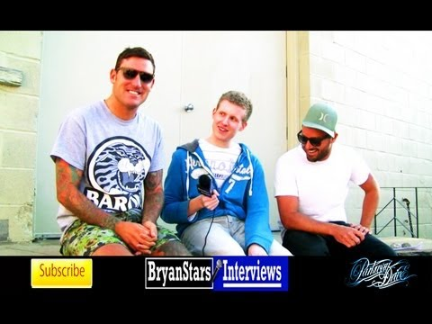 Parkway Drive Interview #2 Winston McCall & Jeff Ling 2013