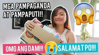 PAMPAPUTI AT PAMPAGANDA! PADALA HAUL!!! salamat po!