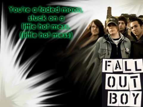 Fall Out Boy - Tiffany Blews - Lyrics