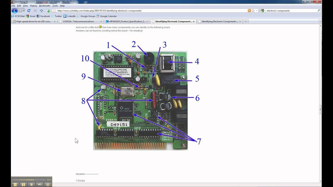 Identifying Electronic Components Pt3