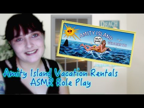 Amity Island Vacation Rental 🌊 ASMR Role Play 🌊