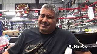 Robert Garcia Reaction To Mikey Garcia Fighting Mandatory Richard Commey EsNews Boxing