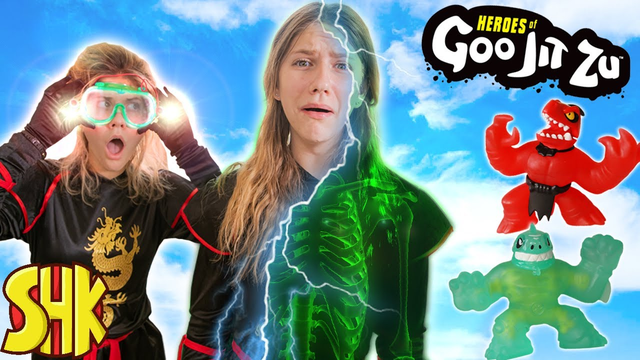 Ninjas with X-ray Powers Mission Impossible! Heroes of Goo Jit Zu Masters Ninja Competition!