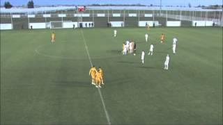 Crazy! Russian footballer stops football match (Mikhail Bakaev ''Kairat vs Metalurg Z'')