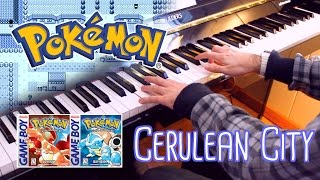 Cerulean City (Pokémon Red and Blue) ~ Piano cover w/ Sheet Music!