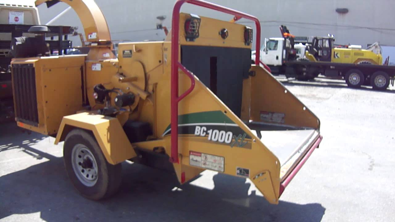 2012 Vermeer BC1000XL Portable Chipper for sale in Philadelphia PA