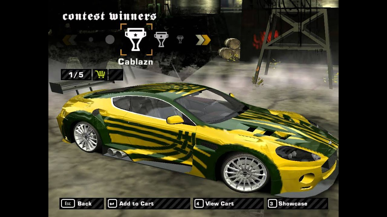 Need for speed most wanted how to make ronnie s cars