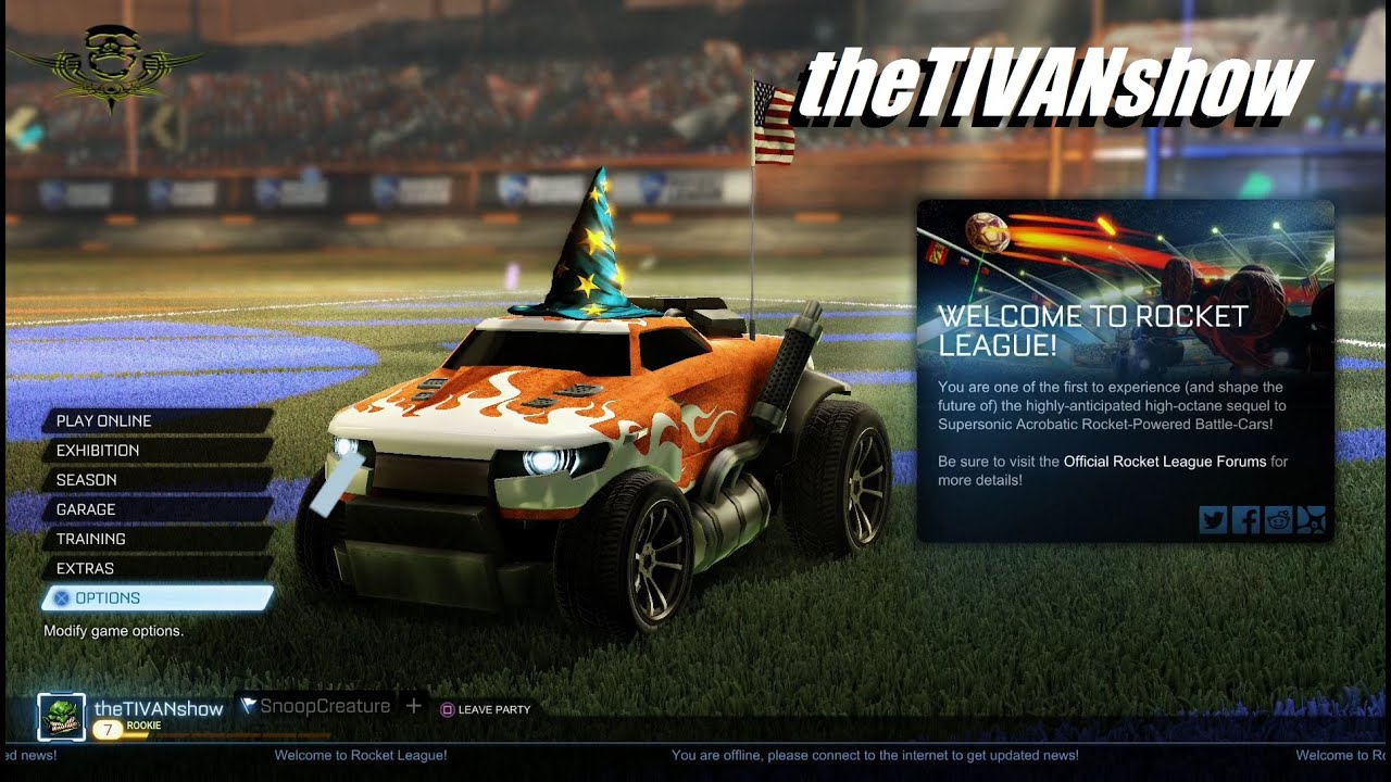 ROCKET LEAGUE - FREE GAMING ON PS4 - LIVE with SNOOPCREATURE