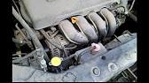 Замена охлаждающей жидкости Citroen C4 - YouTube