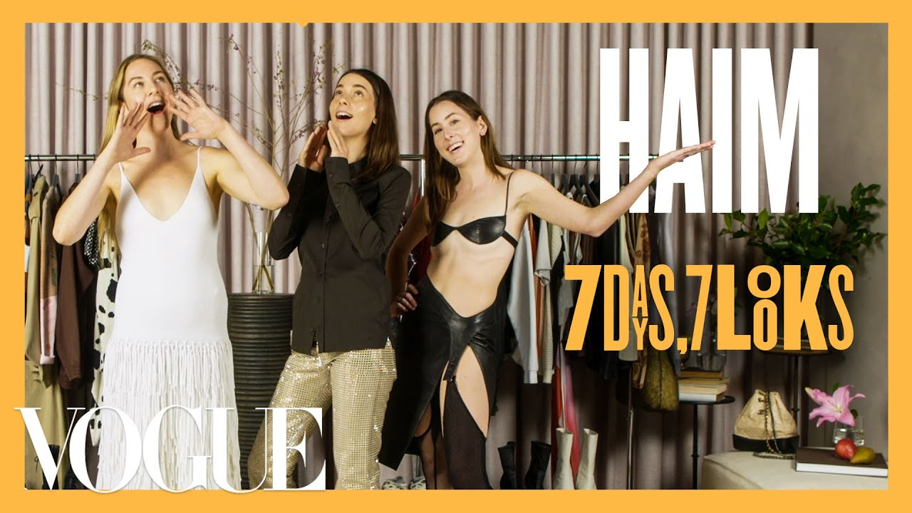 Every Outfit the Haim Sisters Wear in a Week | 7 Days, 7 Looks