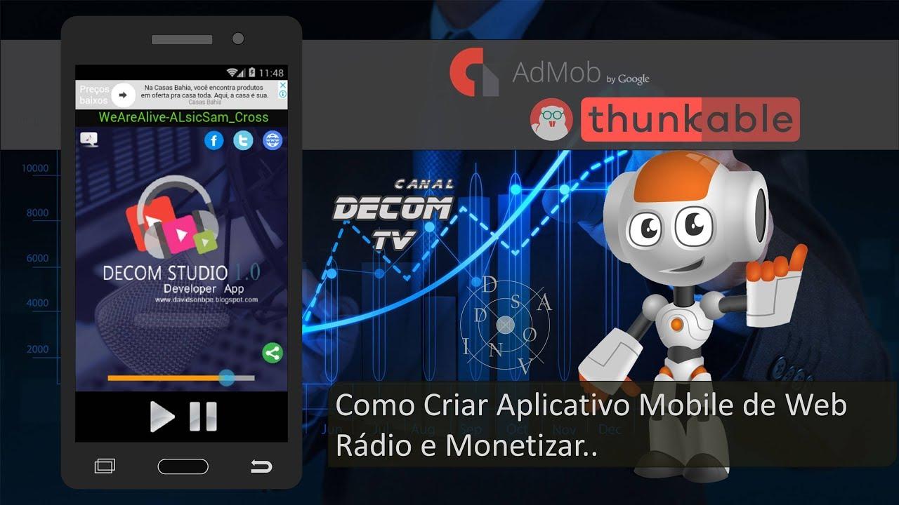 Como Criar Aplicativo Mobile de Web Rádio