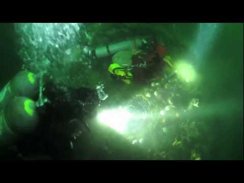Northern Pacific shipwreck: Recovery of the steam whistle