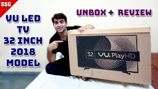 Vu 80cm 32 inch HD Ready LED TV 32K160M Unboxing And review INDIA