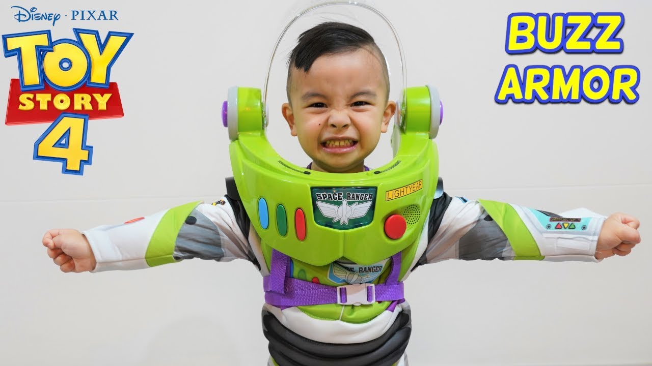 Buzz Lightyear Space Ranger Armor with Jet Pack Toy Story 4 CKN