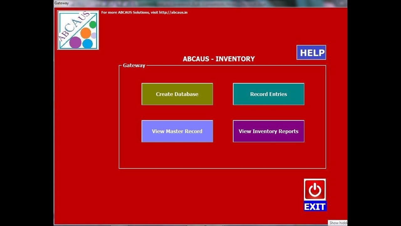 Abcaus Excel Inventory Template And Tracker - Youtube