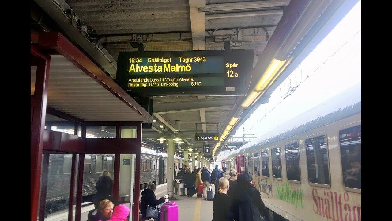 tåg linköping malmö