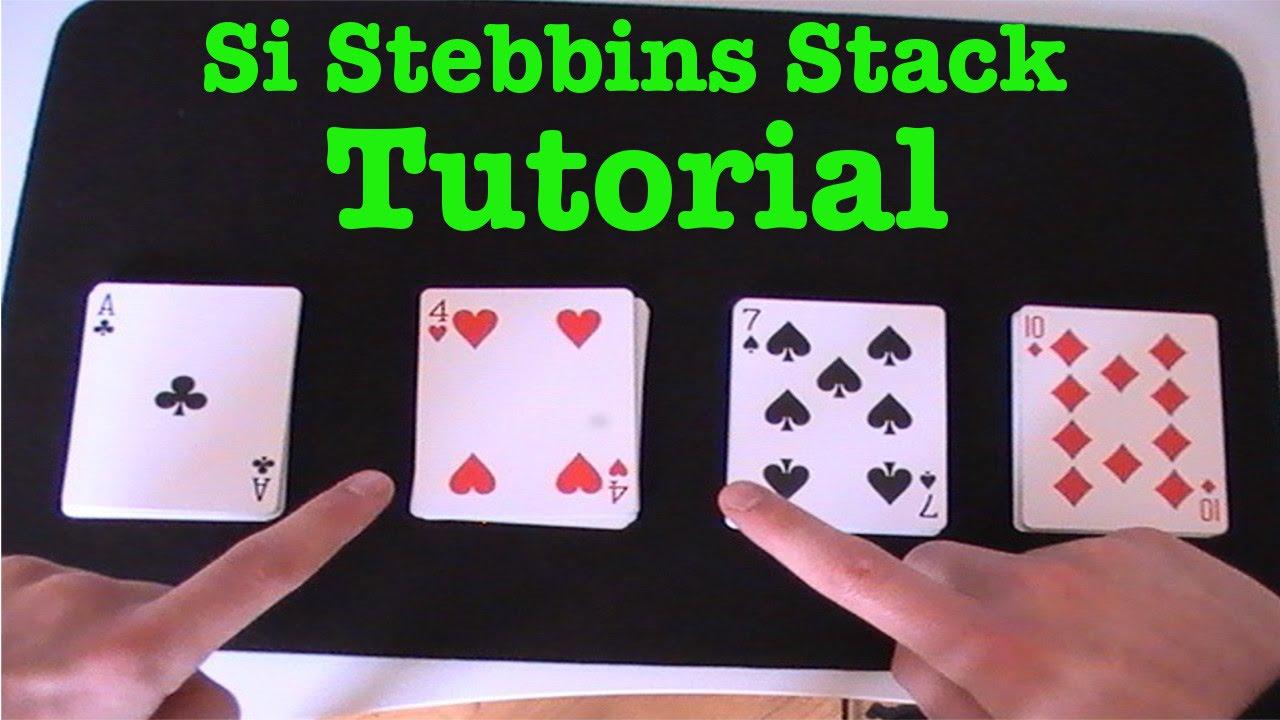 Si Stebbins Stack - Magic Tutorial - YouTube