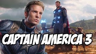 Captain America 3 Initial Plans Revealed before Avengers Infinity War