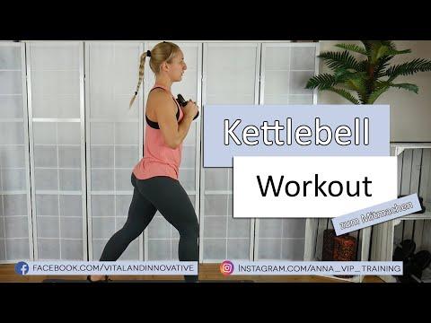 Kettlebell HIIT Workout zum Mitmachen - Ganzkörper Training - Muskelaufbau - Fettverbrennung