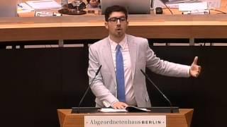 48. Sitzung des Berliner Abgeordnetenhauses - polizeiliche Datenbanken - Christopher Lauer