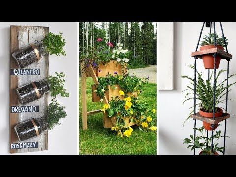 💗 5 Space Saving and Easy DIY Organizer Ideas for Limited Space Garden 💗