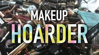 MY MAKEUP HOARDING SHAME - MY STORY