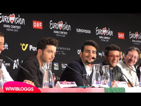 Eurovision Press Conference: Italy Il Volo | wiwibloggs